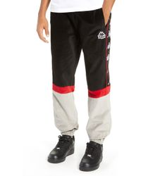f94cb936c292 Kappa - Authentic Serena Cotton Velour Track Pants - Lyst