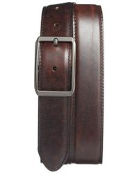Bosca - Reversible Leather Belt - Lyst