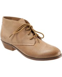 Softwalk - Ramsey Lace Chukka Bootie - Lyst