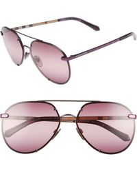 b234ab79899 Lyst - Burberry Sunglasses Be 4117 301213 Sand in Natural