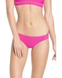 Pilyq - Teeny Stitched Bikini Bottoms - Lyst