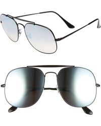 Ray-Ban - The General 57mm Aviator Sunglasses - - Lyst