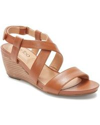 Me Too - Payton Strappy Wedge - Lyst