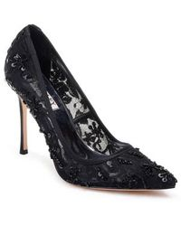 Badgley Mischka - Veronica Lace Pump - Lyst