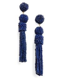 BaubleBar - Mini Mariachi Beaded Tassel Earrings - Lyst