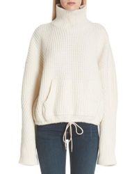 Undercover - Ribbed Wool Turtleneck Sweater - Lyst