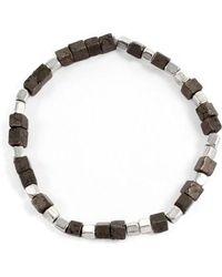 George Frost   Eternal Morse Beaded Bracelet   Lyst