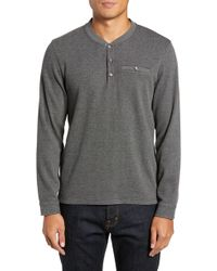 Ted Baker - Slim Fit Mojave Thermal Pocket Henley - Lyst