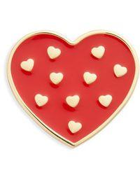 Michael Kors - Michael Heart Pin - Lyst