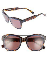 Derek Lam - Hudson 52mm Gradient Sunglasses - Havana Tortoise - Lyst