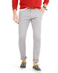 J.Crew - Slim Fit Garment Dyed Stretch Chinos - Lyst