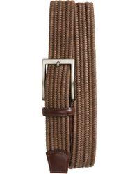Torino Leather Company - Braided Cotton Belt - Lyst