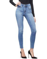 GOOD AMERICAN - Good Waist High Waist Skinny Jeans - Lyst