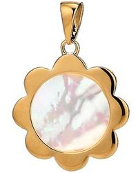 Asha - Flower Mother-of-pearl Charm - Lyst