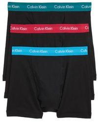 Calvin Klein - 3-pack Boxer Briefs, Black - Lyst