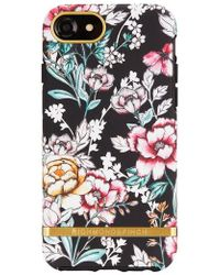 RICHMOND AND FINCH - Richmond & Finch Floral Print Iphone 6/6s/7/8 & 6/6s/7/8 Plus Case - - Lyst