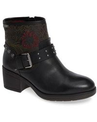 Pikolinos - Lyon Embroidered Engineer Bootie - Lyst