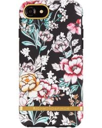 RICHMOND AND FINCH - Richmond & Finch Floral Print Iphone 6/6s/7/8 & 6/6s/7/8 Plus Case - Lyst