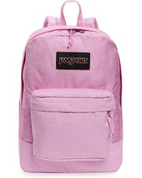 Jansport - Black Label Superbreak 15-inch Laptop Backpack - Purple - Lyst