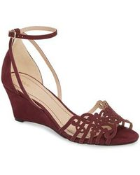 Klub Nico - 'kingston' Ankle Strap Wedge Sandal - Lyst
