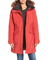 ee4586e742e4 The North Face - Outer Boroughs 3-in-1 Triclimate Waterproof Jacket With  Faux