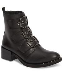 Jeffrey Campbell - Todd Buckle Strap Bootie - Lyst