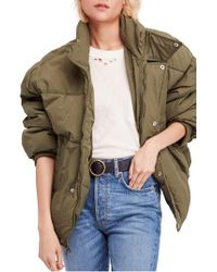Free People - Cold Rush Puffer Jacket - Lyst