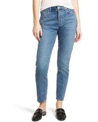 Citizens of Humanity - Liya High Waist Slim Boyfriend Jeans - Lyst