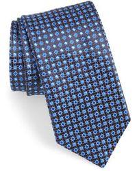 Canali - Geometric Silk Tie - Lyst