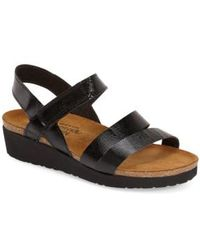 Naot - Kayla Leather Sandals - Lyst