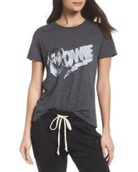 David Lerner - David Bowie High/low Tee - Lyst