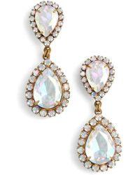 Loren Hope | Crystal Drop Earrings | Lyst