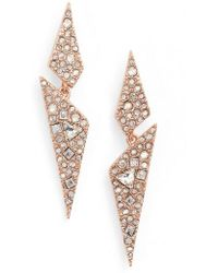 Alexis Bittar - Crystal Encrusted Dangling Drop Earrings - Lyst