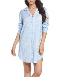 Lauren by Ralph Lauren - Jersey Sleep Shirt - Lyst