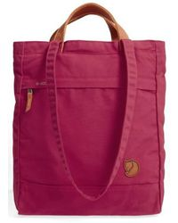 Fjallraven - 'totepack No.1' Water Resistant Tote - Purple - Lyst