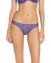 On Gossamer - Racey Lace Thong - Lyst