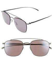 Mykita - Mmesse007 51mm Aviator Sunglasses - Dark Grey - Lyst