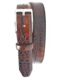 Martin Dingman - Anthony Leather Belt - Lyst