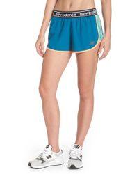 New Balance - Accelerate 2.5 Running Shorts - Lyst
