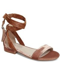 Kenneth Cole - Valen Tassel Lace-up Sandal - Lyst