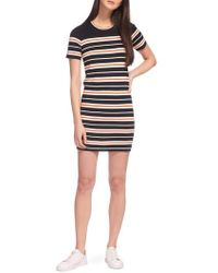 Whistles - Milano Stripe Knit Dress - Lyst