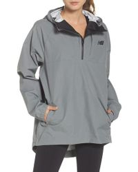 New Balance - 247 Luxe Water Resistant Anorak Jacket - Lyst