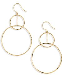 Gorjana - Linked Circle Drop Earrings - Lyst