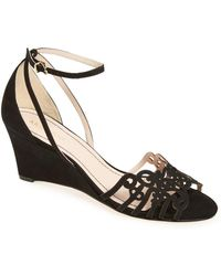 Klub Nico - 'kingston' Ankle Strap Wedge Sandal - Lyst