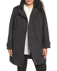 London Fog - Heritage Trench With Detachable Liner - Lyst