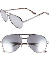 Ted Baker - 58mm Aviator Sunglasses - Lyst