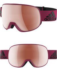 adidas - Progressor S Mirrored Spherical Snowsports Goggles - - Lyst