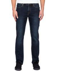 Volcom - Solver Straight Leg Jeans - Lyst