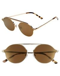 Web - 57mm Round Sunglasses - Lyst