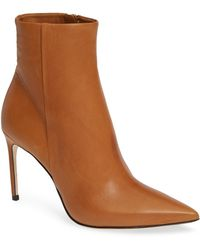 Brian Atwood - Vida Pointy Toe Bootie - Lyst